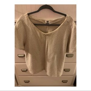 Short Sleeve Sweater Top from Old Navy